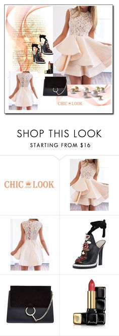 """chiclookcloset 13"" by woman-1979 ❤ liked on Polyvore featuring Chloé and Guerlain"