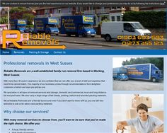Reliable Removals - Contact Us For Your Local Removals Quote Time Website, House Removals, Worthing, How To Remove