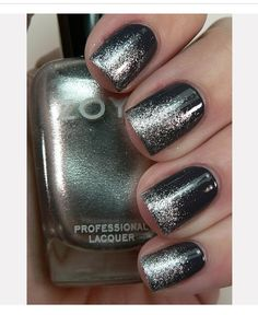 New Years Eve Black Nail Art Inspiration Get Nails, Prom Nails, Love Nails, How To Do Nails, Hair And Nails, Homecoming Nails, Black Nail Art, Black Nails, Black Manicure