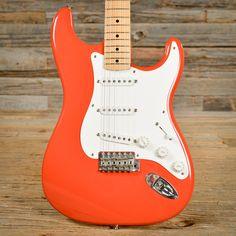 Fender Custom Shop '56 Stratocaster Fiesta Red Closet Classic 2000 (s844)