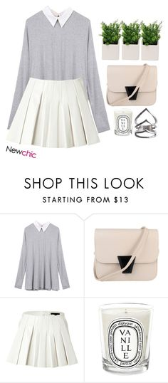 """""""#NewChic"""" by credentovideos ❤ liked on Polyvore featuring Alexander Wang, Diptyque, women's clothing, women's fashion, women, female, woman, misses and juniors"""