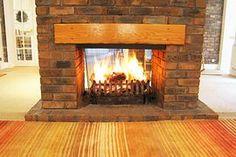 double fireplace designs   Sebright Farm Cottage, St. Albans, Hertfordshire on ...