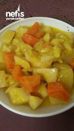Portakal Sulu Kereviz Salatası