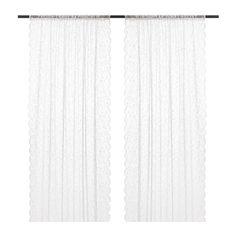 LILLYANA Sheer curtains, 1 pair IKEA
