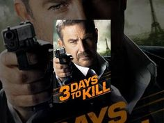 3 Days to Kill - YouTube Great Movies To Watch, Good Movies, Minimal Movie Posters, Film Posters, 3 Days To Kill, Youtube Movies, Lifetime Movies, Kevin Costner, Chick Flicks
