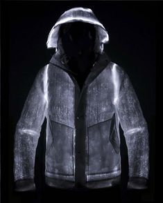 Light Up The Night With Your Own LED Powered Jacket | The Creators Project #eClothing
