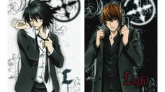 death note wallpaper hmm;} I would LOVE to watch L get all dressed up, he is like SO sexy, and really cute;>