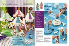 Clay Crafts, Fun Crafts, Baby Shawer, Pasta Flexible, Paper Models, Cold Porcelain, Some Ideas, Dollhouse Miniatures, Cake Toppers