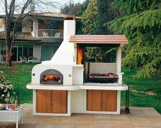 grill pizzaofen kombination selbst bauen | ideen rund ums haus, Garten und Bauen