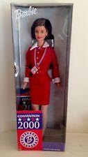 2000 Democratic National Convention Barbie Brunette Delegate Exclusive