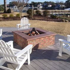 1000 Images About Firepit On Pinterest Fire Pits Decks