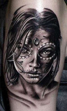 Tattoo Artist - Proki Tattoo - muerte tattoo