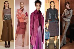 The 12 Biggest Trends of Pre-Fall 2016. Don't worry, fashion is still stuck in the '70s.