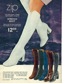 eb5745acfb207 167 Best Vintage Boots | Shoes | Tights | Nylons images in 2018 ...