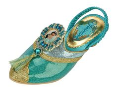 Disney Store Deluxe Jasmine Shoes from Aladdin 23 *** To view further for this item, visit the image link.