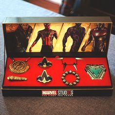 Universe -Tiny Universe - The Avengers Weapon Necklace Set Which passport cover would you like to buy ?Gonna be so epic to travel with! -Source: (link in bio) What if? If Avenges was made in the Marvel Avengers, Avengers Memes, Marvel Jokes, Marvel Funny, Marvel Heroes, Geek Culture, Marvel Universe, Logo Super Heros, Die Rächer