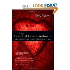 The Essential Commandment: A Disciple's Guide to Loving God and Others (The Essentials Series) - To enable our intentional contemplation & application of our being disciples, Dr. Hosick will lead a congregational study of the book during September, October & November. The book has five parts & twelve chapters with great articles & Bible studies on loving God and others. Adult classes and small groups will study it, and Dr. Hosick will preach from it over the three fall months…