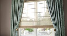 Design Studio Roman shades: Hunter Douglas Window Treatments