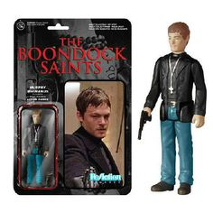 The Boondock Saints Murphy MacManus #ReActionFigure - Celebrate the awesome #90's movie #TheBoondockSaints with this #Funko #ReAction #collectible #figure of #MurphyMacManus. A great #retro gift for any fan of the fraternal twin vigilante duo!