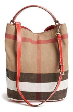 Burberry Brit 'Susanna - Medium' Bucket Bag | Nordstrom