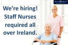 **Exciting opportunities for Staff Nurses all over Ireland** Staff Nurses are urgently required for State of the Art Nursing homes. Our clients offer the very best of facilities, comfort and professional care. These Homes will provide excellent experience for medical professionals to further the development of their careers. Please send your CV to ronanc@headhuntinternational.com or call 01 4188183 Nursing Homes, Job Search, Nurses, Ireland, Health Care, Medical, Art, Art Background, Registered Nurses