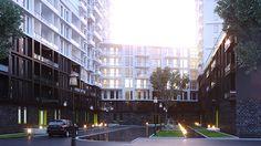 """Dolce Vita"" Mixed-use development Lviv, Ukraine on Behance Mixed Use Development, Ukraine, Behance, Architecture, Behavior, Architecture Design"