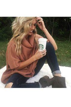 Dream Date Sweater In Rustic Rose