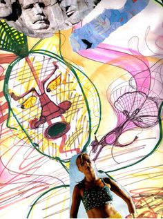 Expressive Art Therapy Activity # 4 - Draw and Collage Your Inner Critic life worth living self esteem eating disorders