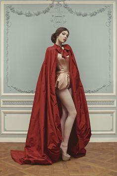 Little Red Riding Hood [Ulyana Sergeenko Couture 2013]
