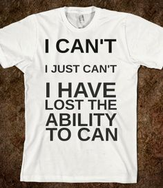 This is the life of a fangirl on a t-shirt.Pretty much me if I ever met Maggie Smith or Jennifer Lawrence.. gah!