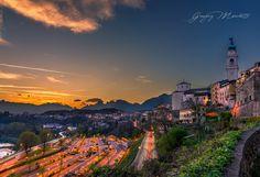 Sunset in Belluno