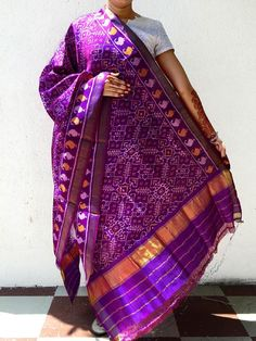 7 Best Patola Saree images  db92ee0ca6