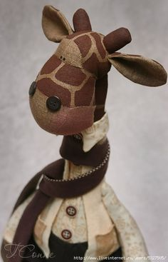 adorable giraffe to sew