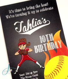 Softball Birthday Party Ideas | Photo 1 of 35