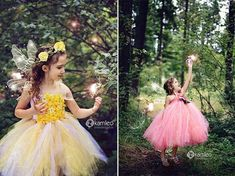 Fairy in the Woods Photoshoot