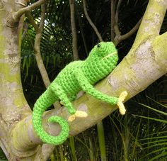 PDF CROCHET PATTERN Carl the Chameleon by bvoe668 on Etsy