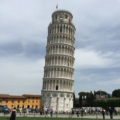 Pin for Later: 79 European Vacation Experiences You'd Be Crazy to Miss Ponder the Leaning Tower of Pisa in Italy