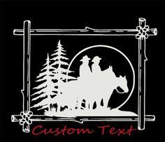 Kellys Custom Vinyl Lettering Art Horse Truck Trailer - Custom vinyl trailer decals
