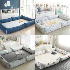 Gmarket - [Prielle] PRIELLE Bed bumper set / snap closure / grap...