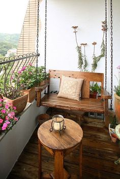 small balcony ideas - Google Search