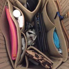 Bag and Purse Organizer for Louis Vuitton Bags Felt Purse Louis Vuitton Artsy, Louis Vuitton Neverfull Mm, Louis Vuitton Handbags, Canvas Book Bag, Inside My Bag, Felt Purse, Purse Organization, Vuitton Bag, Handbag Accessories