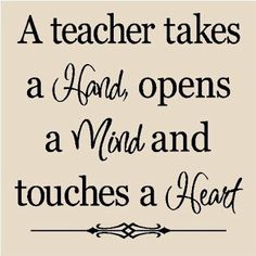 Thanks, teachers, for all you do!! #Teachers #Quote