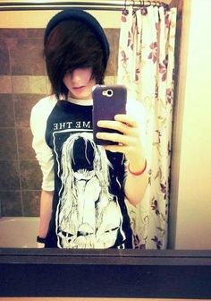 cute emo boy | Tumblr
