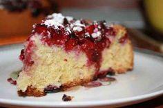 Пирог с вишней в мультиварке - Вкусно готовим дома