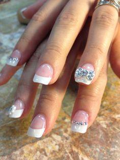 fancy wedding nails - Google Search