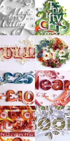 yulia brodskaya quilled illustration