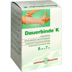DAUERBINDE kräftig 8 cmx7 m:   Packungsinhalt: 1 St Binden PZN: 00260557 Hersteller: Lohmann & Rauscher GmbH & Co.KG Preis: 18,66 EUR…