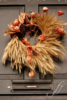 Beautiful Wheat Wreath