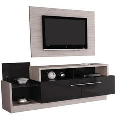 furniture-of-tv-lcd-bass-with-drawers-panel-for-lcd-l . Bass, Drawers, Tv Units, House, Furniture, Home Decor, Tv Unit Furniture, Kitchens, Blue Prints