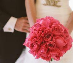 Één soort bloemen in je bruidsboeket: gewaagd maar prachtig!